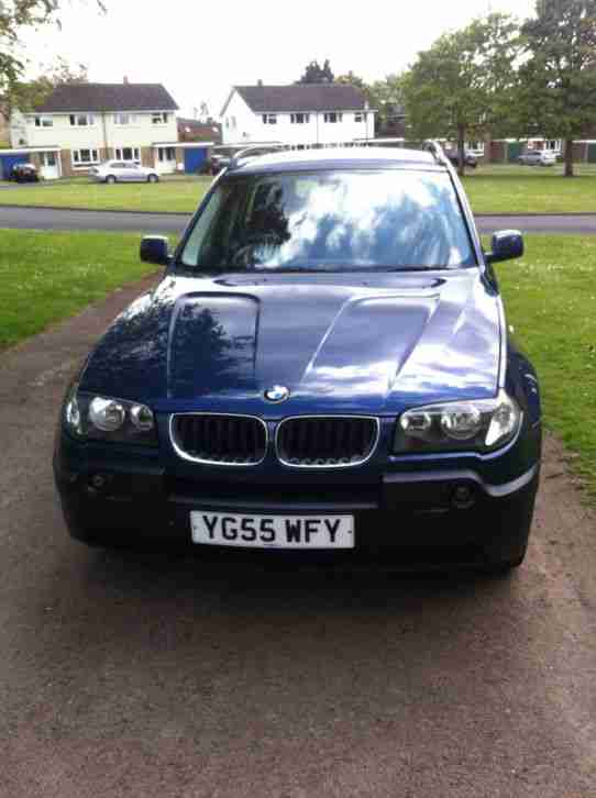 2006 BMW X3 2.0L Diesel SE BLUE FSH priced for quick sale!