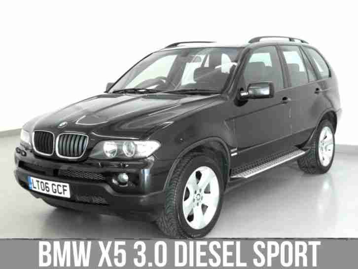 bmw 2006 x5 3 0 d sport 4x4 diesel car for sale. Black Bedroom Furniture Sets. Home Design Ideas