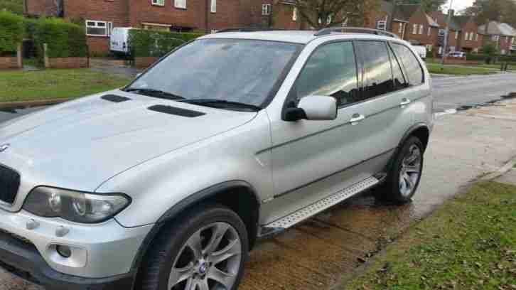 2006 BMW X5 M SPORT D AUTO SILVER, LOOKS STUNNING PRICED FOR QUICK SALE