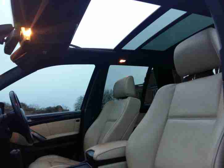 2006 BMW X5 SPORT EXCLUSIVE AUTO BLACK PANORAMIC ROOF TV SATNAV GAS CONVERTED