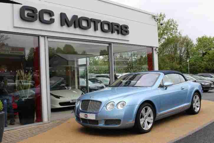 2006 Continental GTC 6.0 W12 2dr Auto