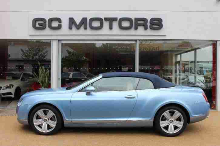 2006 Bentley Continental GTC 6.0 W12 2dr Auto
