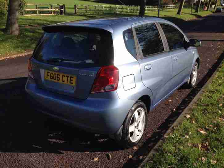 2006 CHEVROLET KALOS SX BLUE spares or repairs