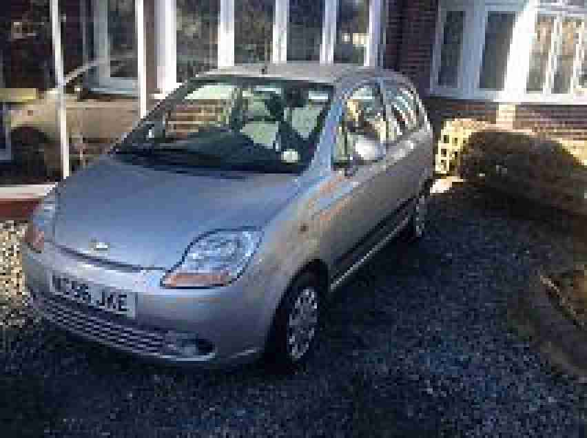 2006 CHEVROLET MATIZ SE SILVER VERY LOW MILES 29700 FROM NEW