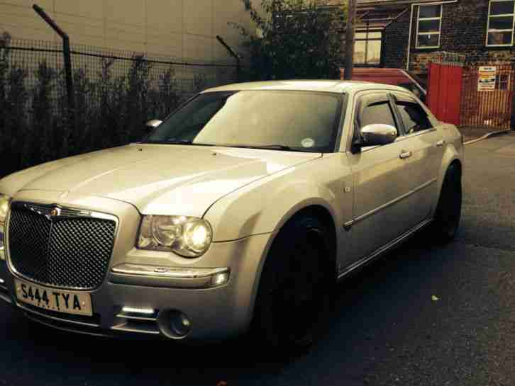 2006 CHRYSLER 300C CRD SILVER DIESEL MODIFIED 22 ALLOYS LED'S TV SCREENS