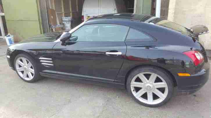 2006 CROSSFIRE COUPE 3.2 V6 BLACK