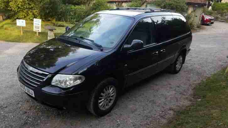 2006 CHRYSLER GRAND VOYAGER 2.8 CRD AUTO LTD XS STOW N GO 7 SEATER *NO RESERVE*