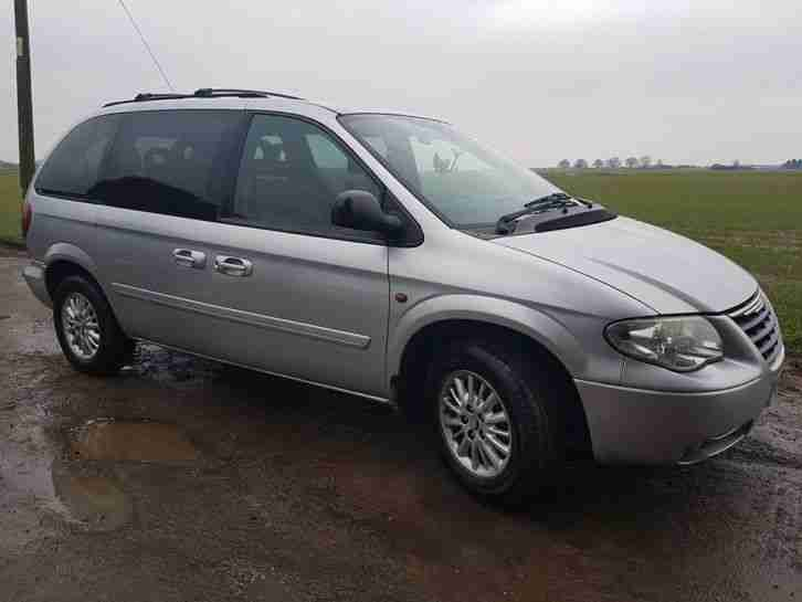2006 CHRYSLER GRAND VOYAGER 7 SEATER AUTO 2.8 CRD DIESEL, LEATHER, DVD, SAT NAV