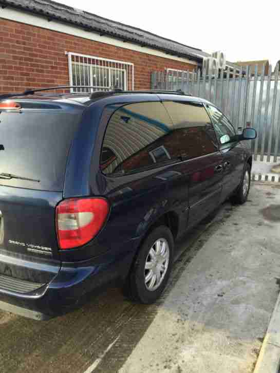 2006 CHRYSLER GRAND VOYAGER LTD XS AUTO BLUE
