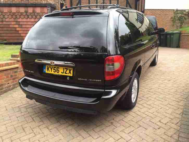 2006 CHRYSLER GRAND VOYAGER LTD XS CRDA BLACK