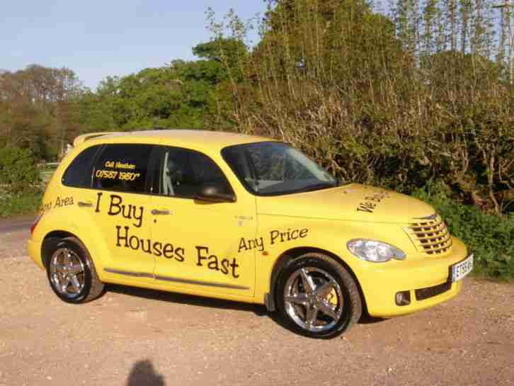 chrysler 2006 pt cruiser route 66 auto yellow very rare. Black Bedroom Furniture Sets. Home Design Ideas