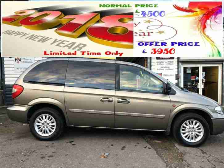 2006 CHRYSLER VOYAGER 2.8 CRD AUTOMATIC LX 7 SEATER ( AA ) WARRANTED INCLUDED