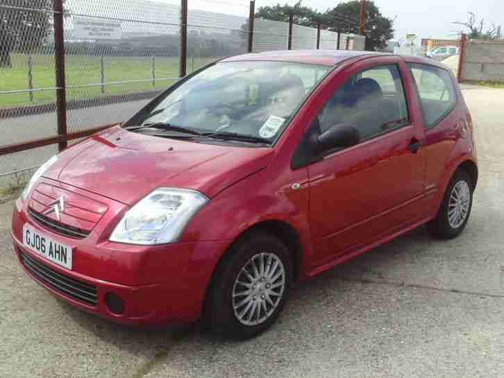 2006 Citroen C2 Design Red Car For Sale
