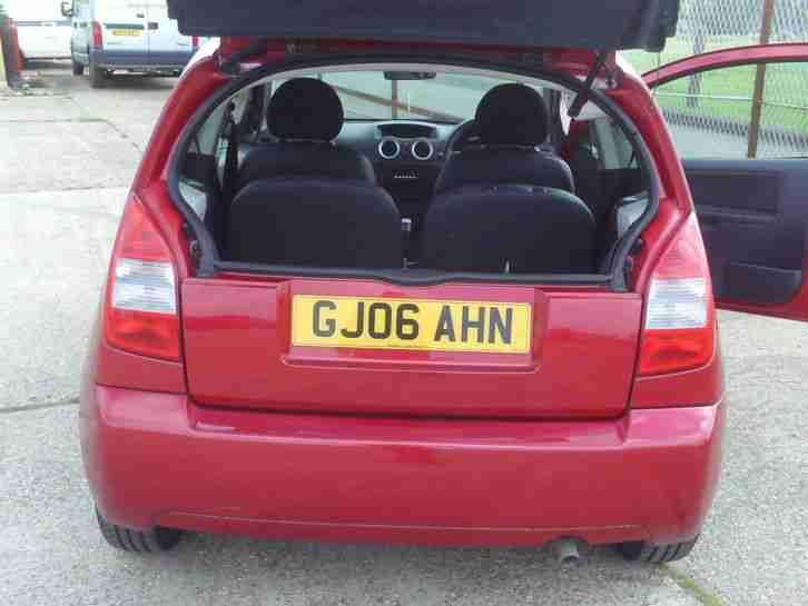 2006 Citroen C2 Design Red Car For Sale border=