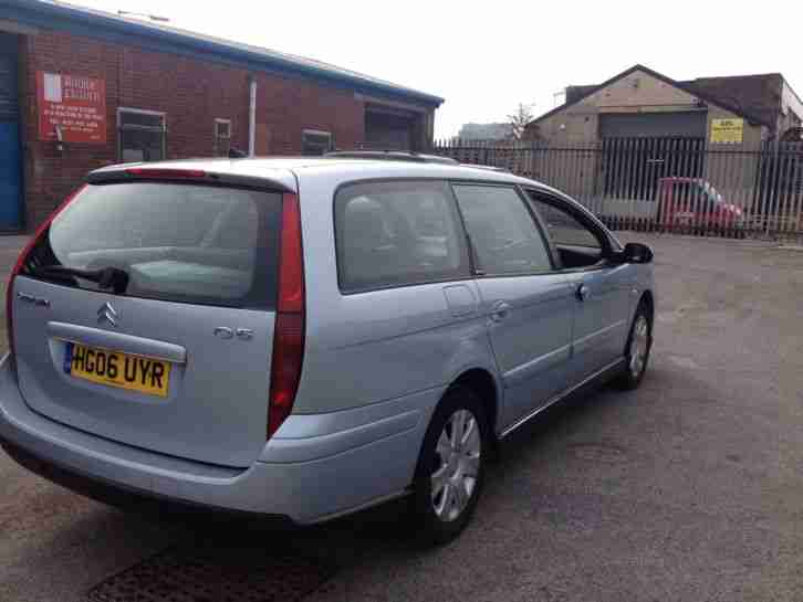 2006 CITROEN C5 ESTATE HDI VTR VERY LIGHT DAMAGE UNRECORDED DRIVES PERFECT