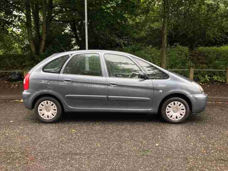 2006 CITROEN XSARA PICASSO DESIRE 16V GREY VERY LOW MILES 33K CHEAP CAR BARGAIN