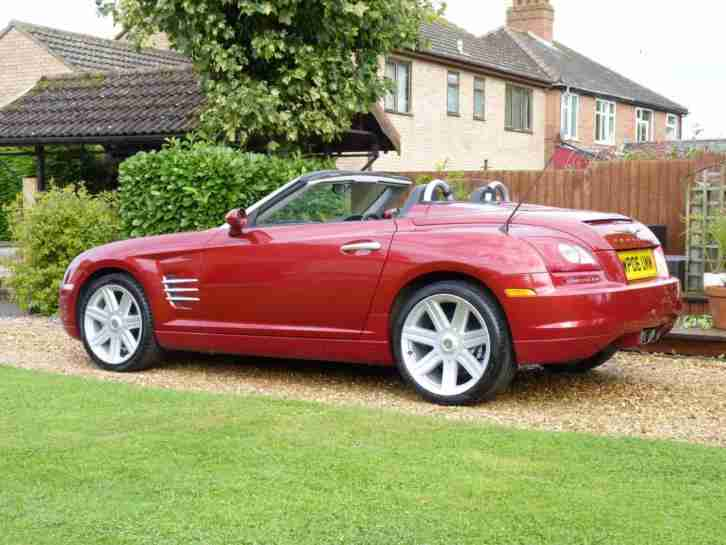 Chrysler 2006 Crossfire Convertible Auto STUNNING CAR IN ...