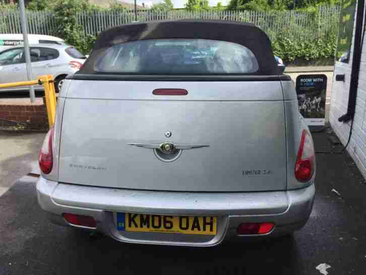 2006 Chrysler Pt Cruiser 2.4 Limited 2dr 2 door Convertible