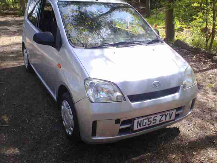 2006 DAIHATSU CHARADE EL SILVER GOOD MOT ROADTAX 2.60 PER MONTH