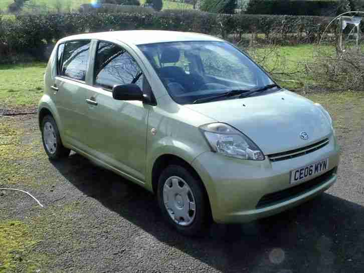 2006 SIRION 1.0 S VERY LOW MILEAGE