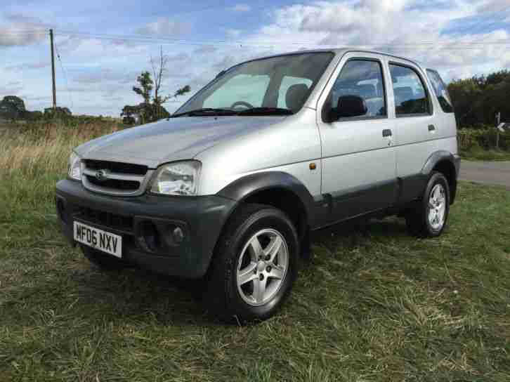 2006 TERIOS 1.3 TRACKER 4X4 GENUINE