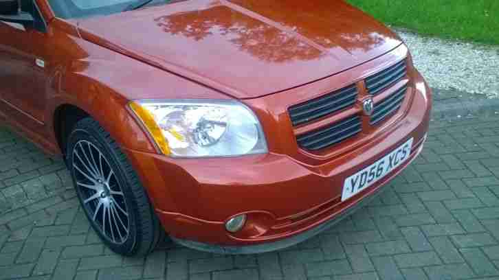 2006 DODGE (USA) CALIBER SXT SPORT A ORANGE
