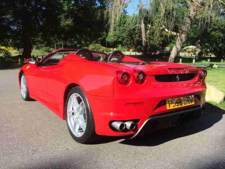 ferrari 2006 f430 spider f1 red car for sale. Black Bedroom Furniture Sets. Home Design Ideas