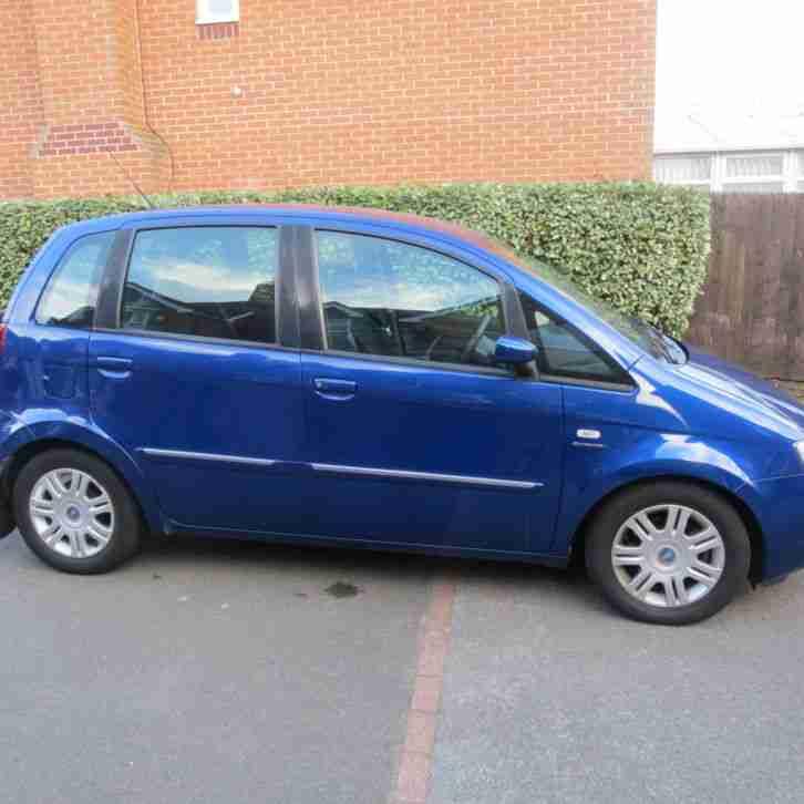 Fiat 2006 Idea Dynamic M Jet Blue Car For Sale
