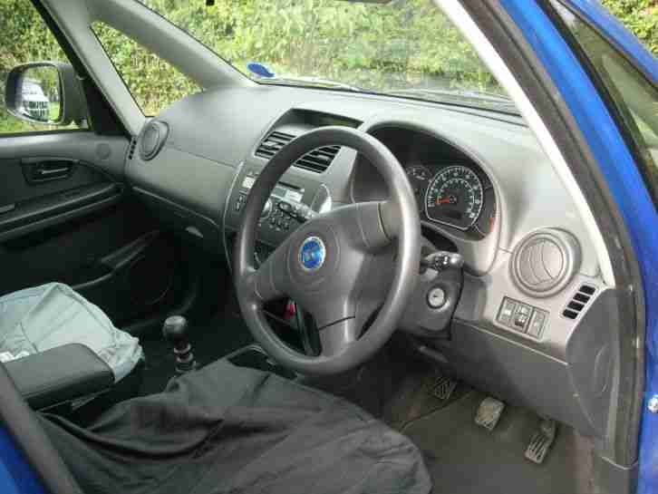 2006 FIAT SEDICI DYNAMIC MULTIJET BLUE