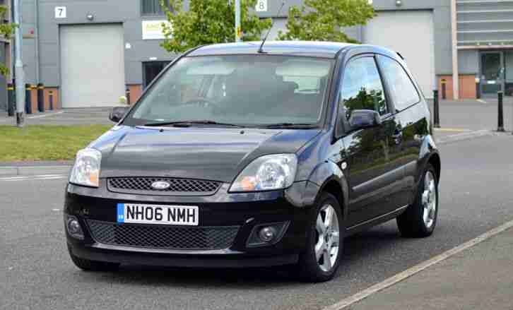 ford 2006 fiesta freedom black zetec car for sale. Black Bedroom Furniture Sets. Home Design Ideas