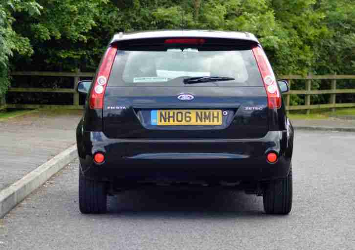 2006 FORD FIESTA FREEDOM BLACK zetec