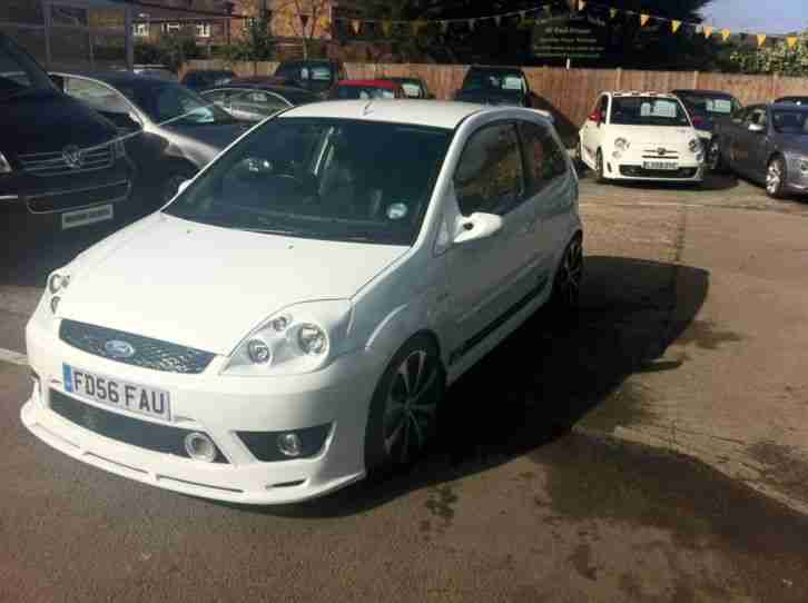 2006 FORD FIESTA ST WHITE - 52k miles - Modified - in magasines - NO RESERVE