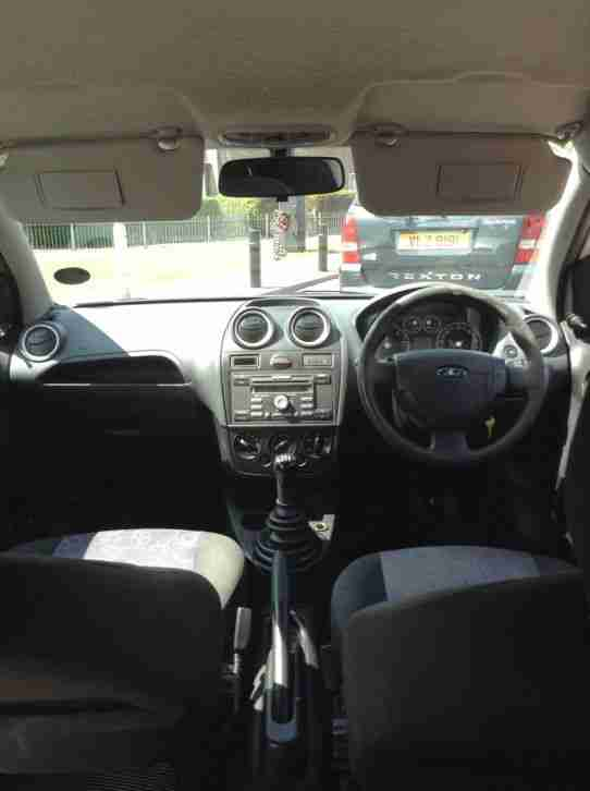 2006 FORD FIESTA STYLE TDCI SILVER