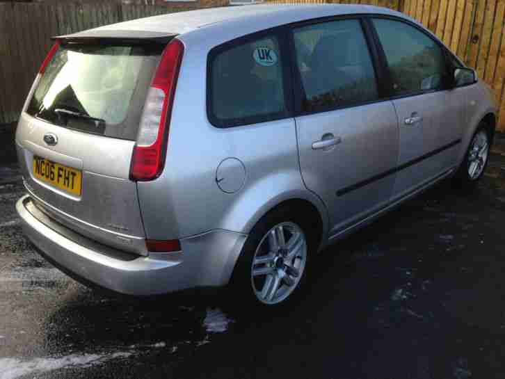 2006 FORD FOCUS C-MAX ZETEC TDCI E4 DIESEL SALVAGE LIGHTLY DAMAGED NOT RECORDED