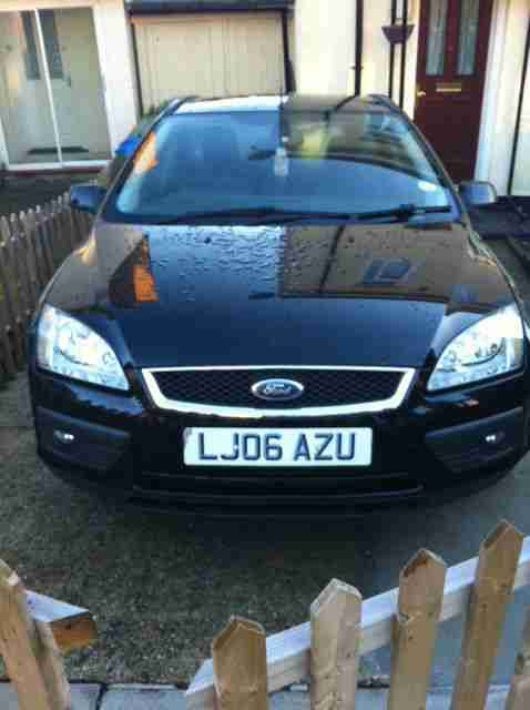 2006 FORD FOCUS TITANIUM TDCI ESTATE BLACK