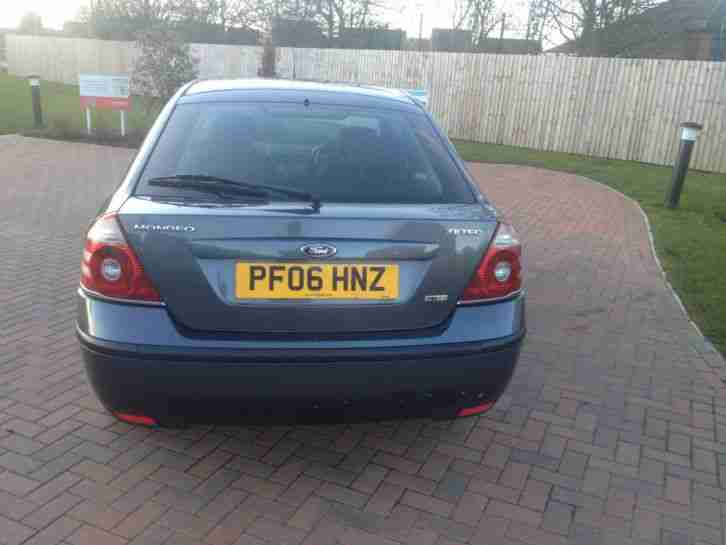 2006 FORD MONDEO ZETEC 2.0 TDCI 130 GREY CLEAN CAR SERVICE HISTORY DRIVES SUPERB
