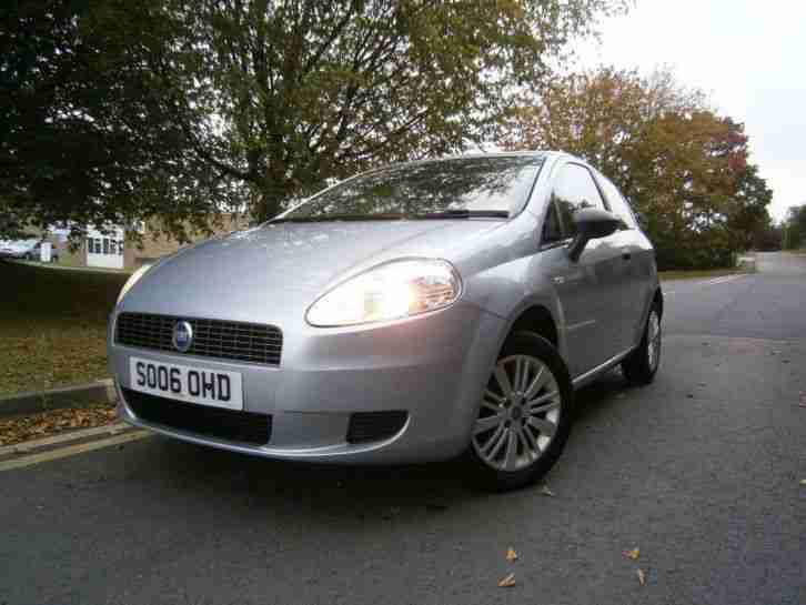 2006 Grande Punto 1.2 Active 3dr 3 door
