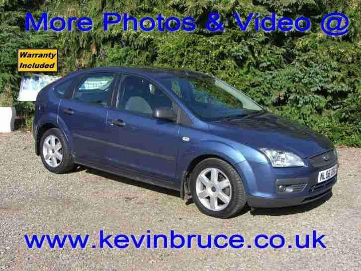 2006 Ford Focus 1.6 Sport 5dr 5 door Hatchback