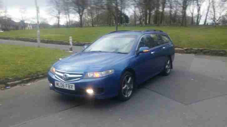 2006 HONDA ACCORD SPORT I-CTDI BLUE DIESEL ESTATE 6 SPEED MANUAL HPi CLEAR MOT