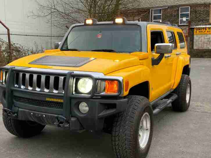 2006 H3 3.5 DRIVE YELLOW MODIFIED OFF