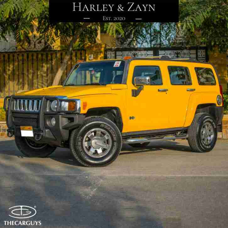 2006 H3 3.5L YELLOW LHD AMERICAN SUV