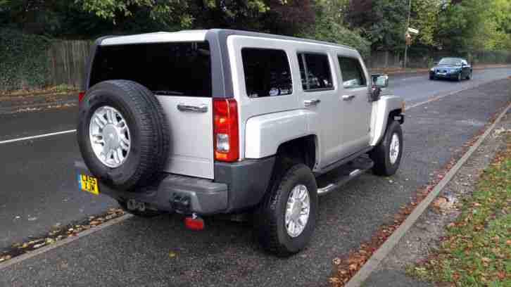 2006 HUMMER H3 SILVER 3.5 AUTOMATIC