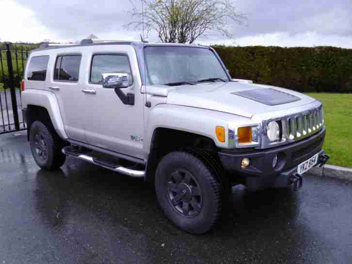 hummer 2006 h3 silver 4x4 stunning example car for sale. Black Bedroom Furniture Sets. Home Design Ideas