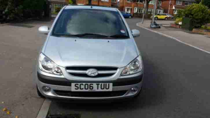 2006 HYUNDAI GETZ CDX AUTO SILVER 1.4cc 5 door top of the range