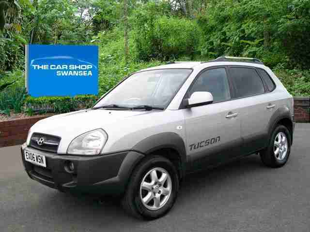 2006 HYUNDAI TUCSON 2.0 CRTD CDX FULL LEATHER TRIM NEW TIMING BELT 1 7 2016