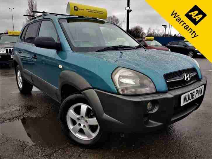 2006 HYUNDAI TUCSON 2.0 GSI CRTD 111 BHP+P X WELCME+AUTO+ELEC SUNROOF+4WD OPTION