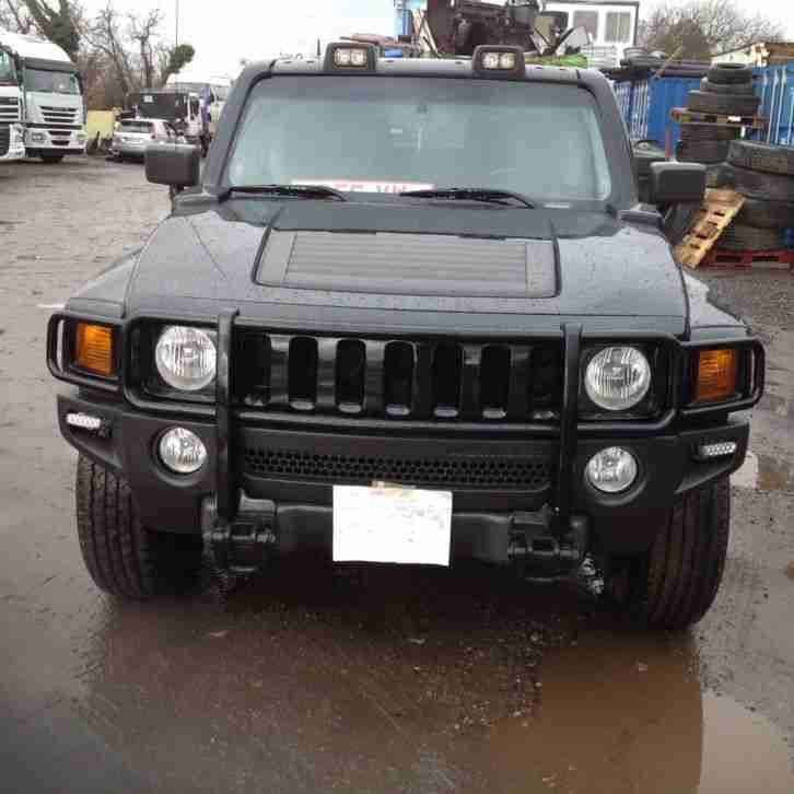2006 Hummer H3 3.7 Petrol 5 Speed Manual in Black. Left Hand Drive.Ideal Export