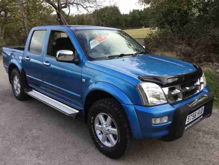 2006 RODEO 3.0ltr DENVER MAX DOUBLE CAB