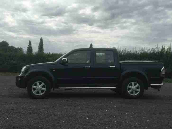 2006 ISUZU RODEO DENVER TD INTERCOOL BLACK
