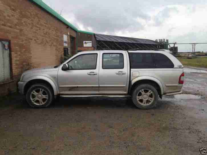 2006 ISUZU TF RODEO DENVER 3.0 TD D C SILVER PRODRIVE special edition